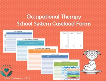 Occupational Therapy End of the Year Caseload Tracking Form