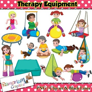 occupational therapy equipment clip art rh teacherspayteachers com Images From Occupational Therapy Occupational Therapy Logo