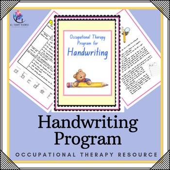 Occupational Therapy Handwriting Program