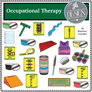 Occupational Therapy (JB Design Clip Art for Personal or Commercial Use)