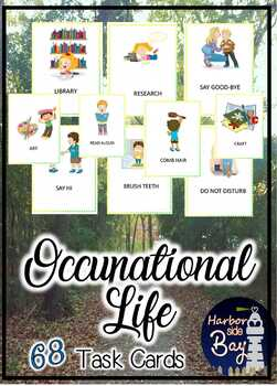 Occupational Therapy: Occupational Task Cards
