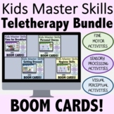 Occupational Therapy BOOM CARDS for Teletherapy: Skill Bui