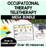 Occupational Therapy Teletherapy BUNDLE - no print and pri
