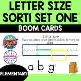 Occupational Therapy Teletherapy: Letter Size Sort to make