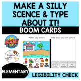 Occupational Therapy Teletherapy: Make a SILLY scene & type!