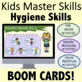 Occupational Therapy BOOM CARDS for Teletherapy: Hygiene Skills