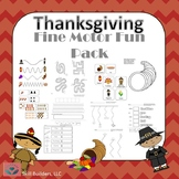 Occupational Therapy Thanksgiving Handwriting and Fine Motor Fun Pack