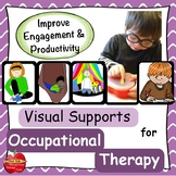 Occupational Therapy: Visual Supports for Treatment, Schedule, or Task Cards