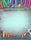Occupational Therapy Welcome Letter for Teletherapy and Distance Learning