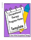 Occupational Therapy progress notes