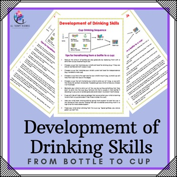 Occupational Therapyy - Development of Drinking Skills - From bottle to cup