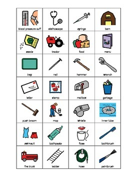 Occupational tools SORTING activity, SPEECH THERAPY, Autism, Vocabulary