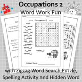 Occupations 2 Word Work Fun