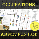 Occupations - Activities FUN Pack for ESL Students of all ages
