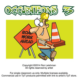 Occupations Cartoon Clipart Volume 3 | Occupations Clipart for ALL grades