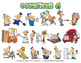 Occupations Cartoon Clipart Volume 4 | Occupations Clipart for ALL grades