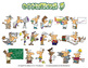 Occupations Cartoon Clipart Volume 5 | Occupations Clipart for ALL grades