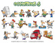Occupations Cartoon Clipart Volume 6   Occupations Clipart for ALL grades