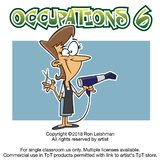 Occupations Cartoon Clipart Volume 6 | Occupations Clipart for ALL grades