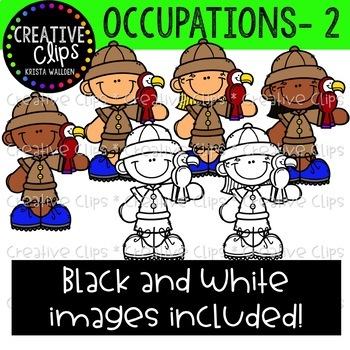 Occupations Clipart Mega Bundle {Creative Clips Clipart}