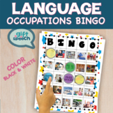 Occupations Community Bingo Speech Therapy Moderate to Severe Life Skills