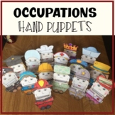 Community Helpers Hand Puppets Occupations Hand Puppets