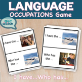 Occupations Community I have Who Has Game Speech Therapy Life Skills