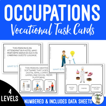 Occupations Task Cards