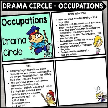 Occupations Drama Circle