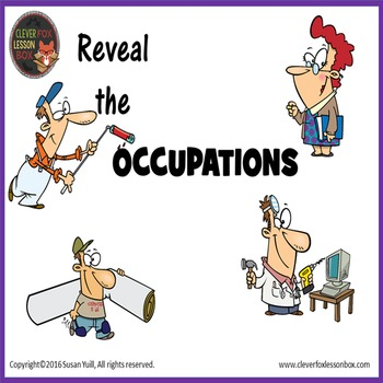 Occupations - PowerPoint Reveal Game