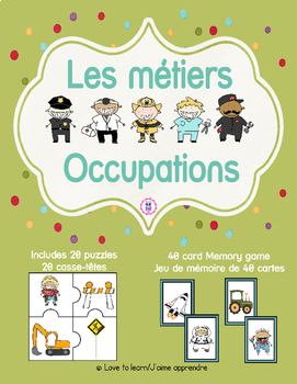 Occupations - Les métiers