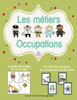 Occupations - Les métiers