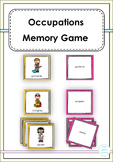 Occupations Memory Game