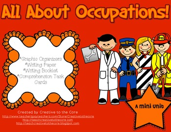 Occupations Mini Unit~ Includes Graphic Organizers & Much More!