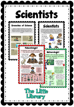 Occupations Posters Set 1 Scientists