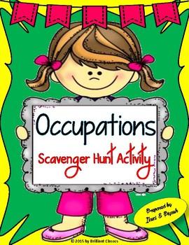Occupations Scavenger Hunt