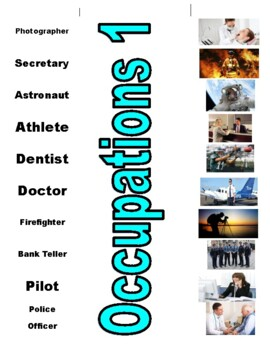 Occupations Vocabulary Bundle