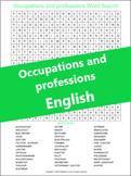 Occupations and Professions: Esercizi (ESL A1/B1) (+ Digital TpT)