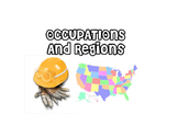 Occupations and Regions - Life Skills