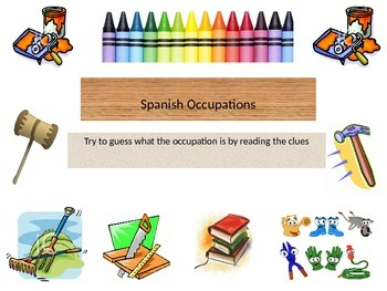 Occupations in Spanish