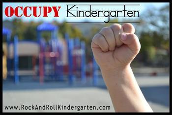 """Occupy Kindergarten"" Official Poster"