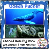Ocean - 1 -2, An Ocean For You! Literacy Packet