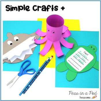 Ocean Animals Crafts and Activities