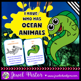Ocean Animals Activities (Ocean Animals Game I Have Who Has)