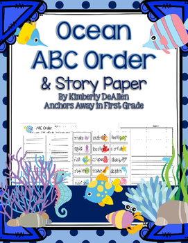 ABC Order Ocean and Story Paper