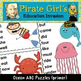 Ocean ABC Puzzles (dolch primer)