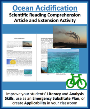Ocean Acidification - Science Reading Article - Grade 8 and Up