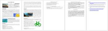 Ocean Acidification - Science Reading Article - Grades 5-7