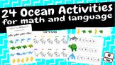 Ocean Activities - 24 activities for math and language
