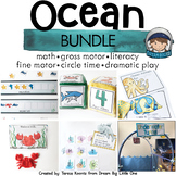 Ocean Activities (Circle Time, Centers, Small Group) BUNDLE